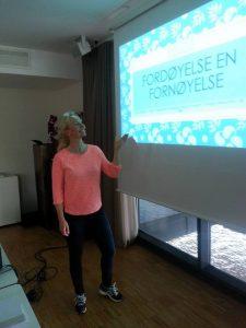Foredrag om tarmhelsen og næringsrik mat