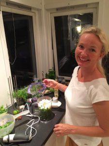 Kamilla Hill forbereder seg på matkurs