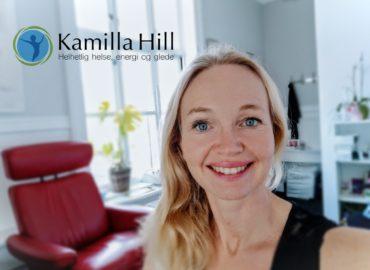kamilla Hill, Bioresonans, ernæringsterapeut, Kursholder